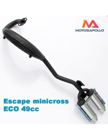 Escape minicross ECO 2 salidas - Motosapollo.com