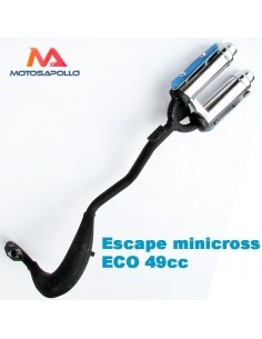 Escape minicross ECO 2 salidas - Motosapollo.com