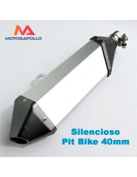 Silencioso 40mm pit bike - Motosapollo.com