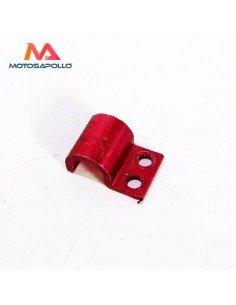 Abrazadera latiguillo freno aluminio - Motosapollo.com