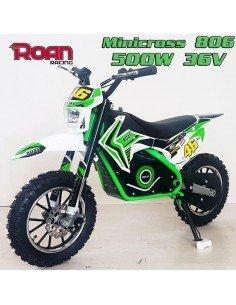 Mini cross ROAN 806 500W 36V con luces