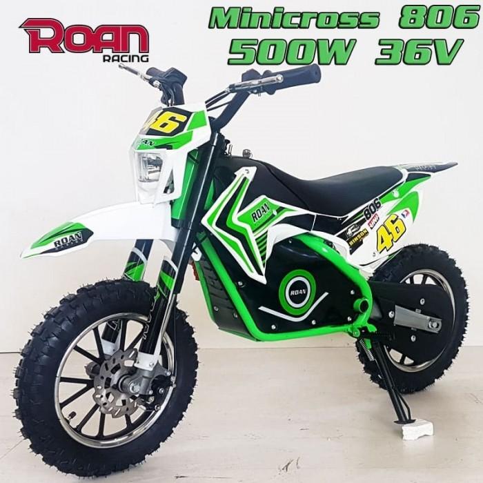 Mini cross ROAN 806 500W - Motosapollo.com
