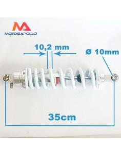 Amortiguador 350 mm 1000LBS - Motosapollo.com