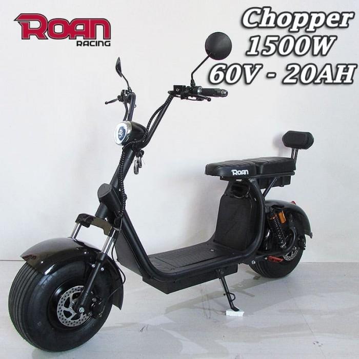 Patinete Chopper ROAN 1500W 60V 20AH - Motosapollo.com