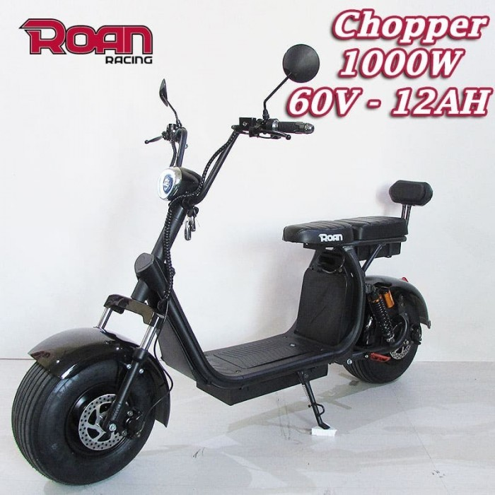 Patinete Chopper ROAN 1000W 60V 12AH - Motosapollo.com
