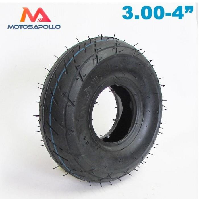 "Neumatico 3.00-4"" CLEVER - Motosapollo.com"
