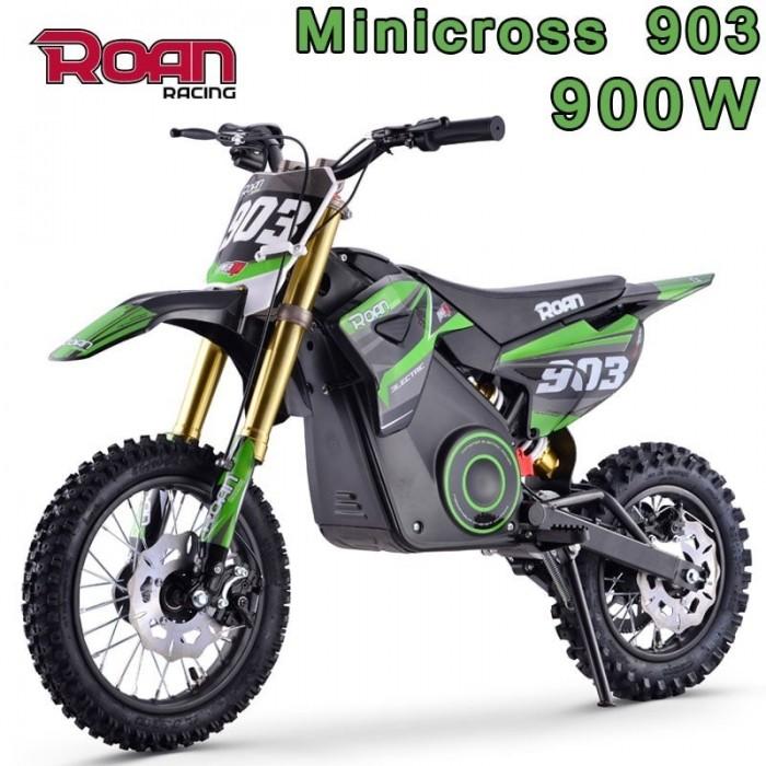 Mini cross eléctrica ROAN 903 900W - Motosapollo.com