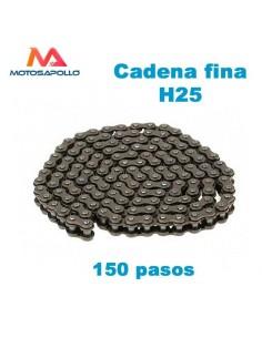 Cadena fina 25H 150 pasos - Motosapollo.com