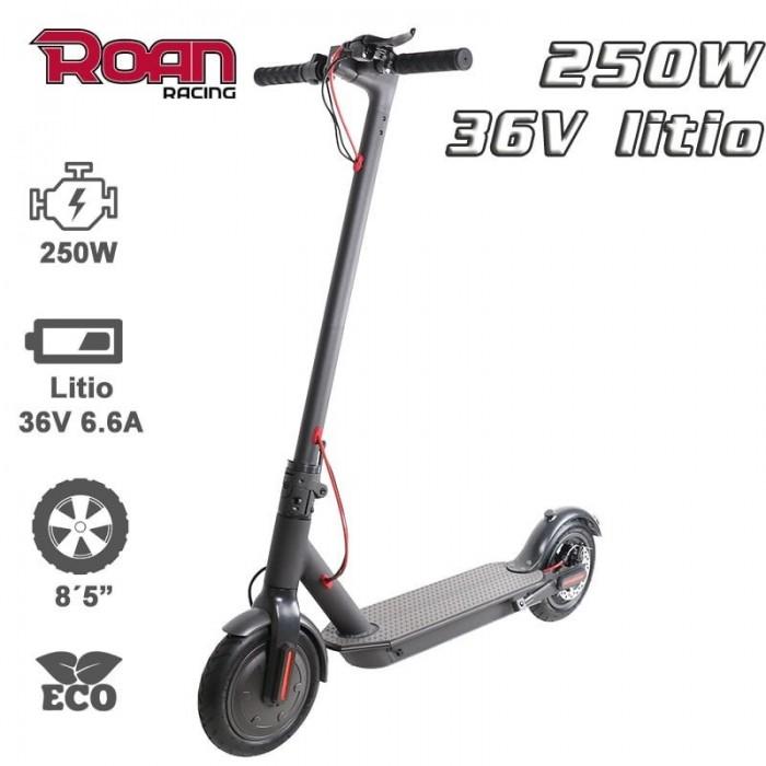 Patinete ROAN M365 250W 36V 6.6Ah - Motosapollo.com