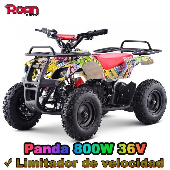 Miniquad electrico Panda 800W r6 - Motosapollo.com