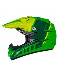 CASCO JUNIOR CROSS MT MX-2 BRILLO para niños