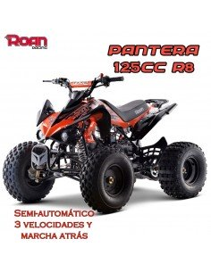 Mini Quad 125cc Pantera PRO - Motosapollo.com