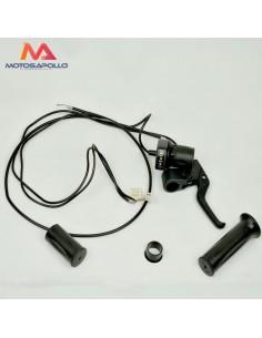 ACELERADOR ELECTRICO 24V 4-PIN + maneta freno