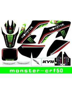 Adhesivos CRF50 Monster-verde