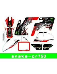 Adhesivos CRF50 Monster-rojo - 1
