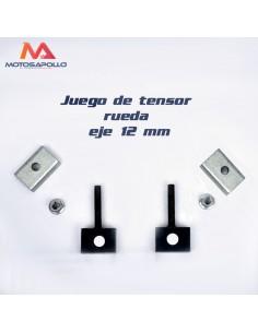 JUEGO TENSOR RUEDA EJE-12mm ACERO CUADRADO