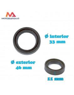 Reten guarda polvo 33-46-11 mm Pit bike Motosapollo.com