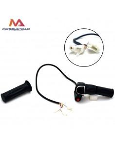 Acelerador eléctrico pit bike 6pin 36v