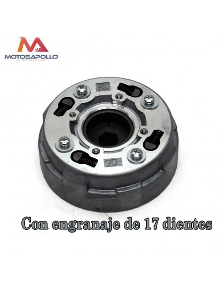 Embrague pit bike quad con 17 dientes - Motosapollo