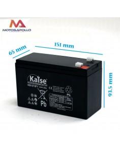 Batería AGM 12V-7.2Ah Kaise mini motos eléctricas Motosapollo.com