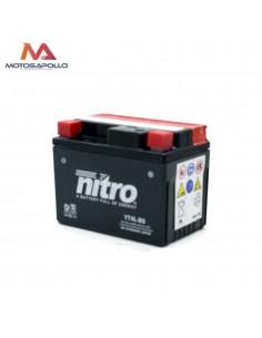 Batería 12V-3AH plomo ácido Nitro Motosapollo.com