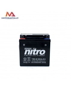 Batería AGM gel 12V-9Ah Nitro Motosapollo.com