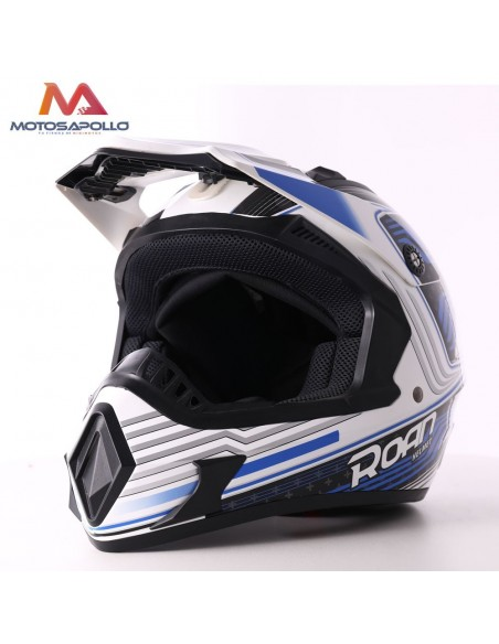 Casco de cross adulto roan - Motosapollo.com