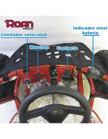 Mini Buggy 1000W 48V R6 ROAN - Motosapollo.com