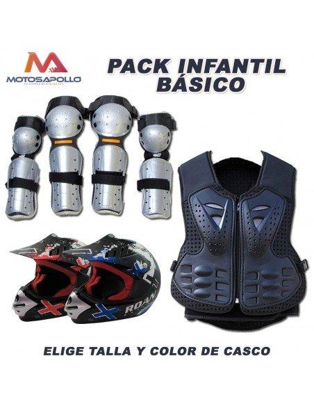 Pack básico cross chaleco infantil PV3