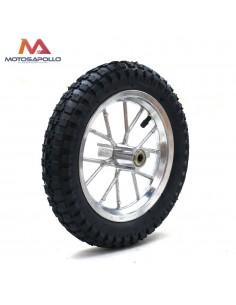 Rueda trasera minicross 8″ Motosapollo.com