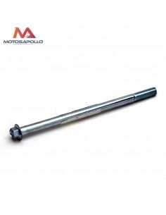 Eje rueda 180 mm minimoto - Motosapollo.com