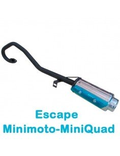 Escape minimoto mini quad 2T - Motosapollo.com