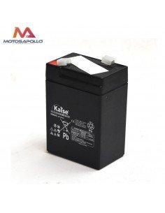 Batería plomo ácido 6V-4.5AH Kaise Mini motos eléctricas - Motosapollo.com