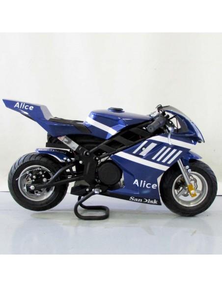 Mini moto eléctrica Roan Rocket 1060W 36V 12Ah - Motosapollo.com