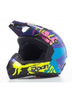 Casco motocross ROAN MX530 de adulto (2021) - Motosapollo.com