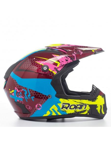 Casco motocross ROAN MX530 de adulto (2021) - Motosapollo.com
