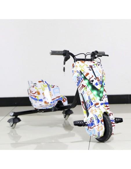 Tricilo eléctrico Drift Trike Roan 250W 36V Full equipo - Motosapollo.com