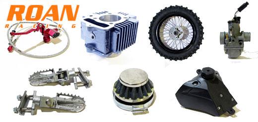 Repuestos y recambios para minimotos