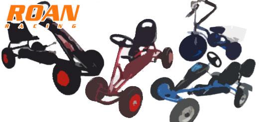 Karts a pedales ROAN Racing