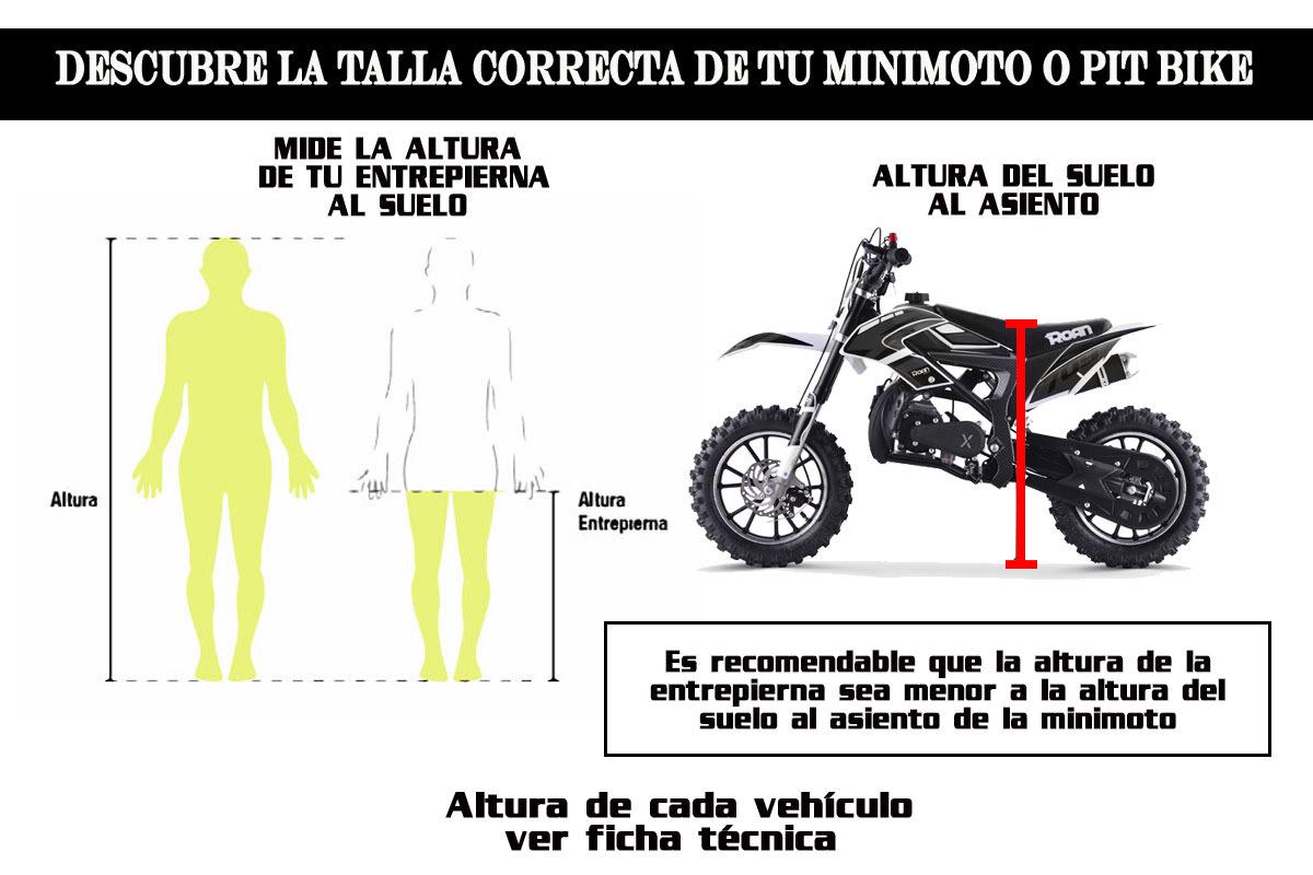 Elige el tamaño correcto de tu minicross