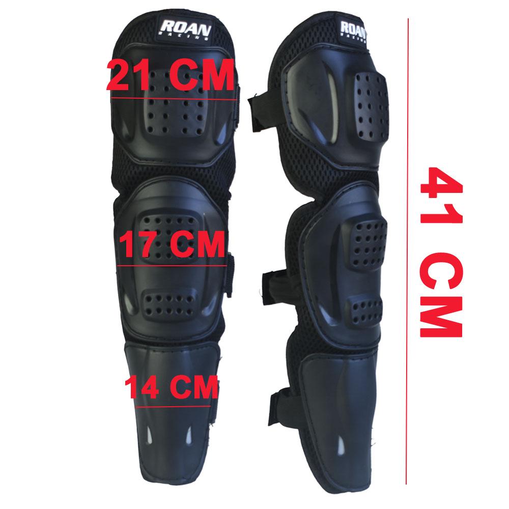 Coderas y rodilleras cross adulto de alta resistencia y durabilidad por los componentes de fabricación. Válido para enduro, motocross, miniquad, pit bike