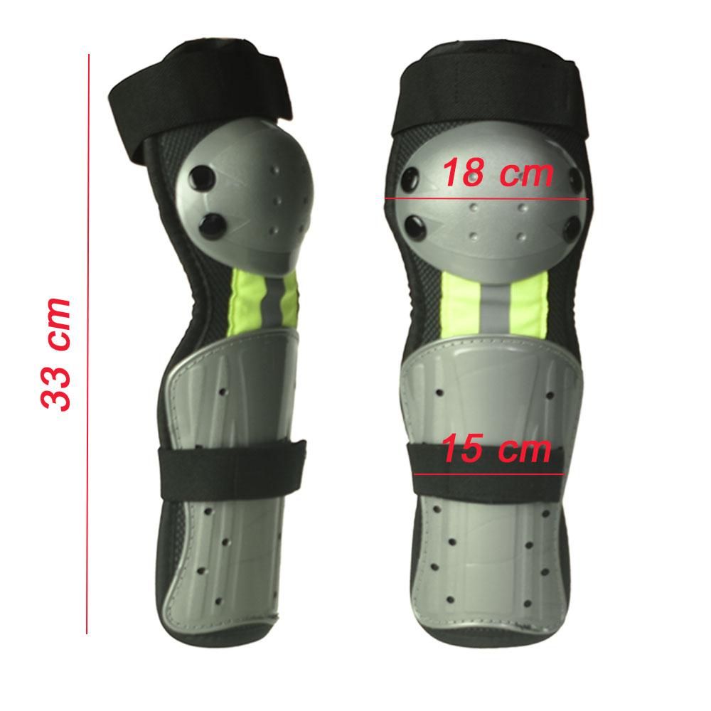 Rodilleras de cross infantil, su diseño ergonómico permite adaptarse fácilmente y tener libertad de movimiento